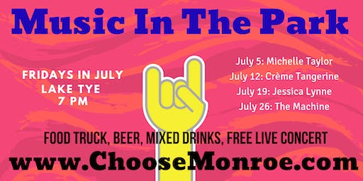 Monroe Music In The Park Concert Series