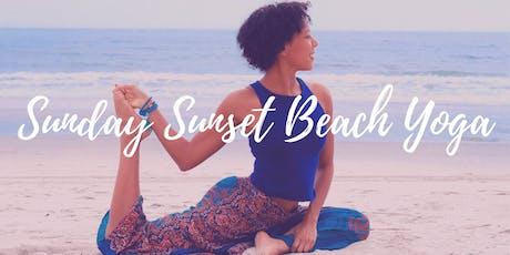 Sunday Sunset Beach Yoga  tickets