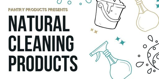 All-Natural Cleaning Products Workshop