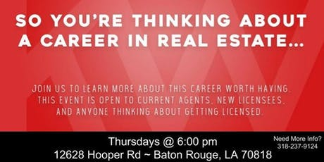 Career Night-Keller Williams Greater Baton Rouge tickets