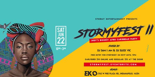 #StormyFest Afro Caribbean Party