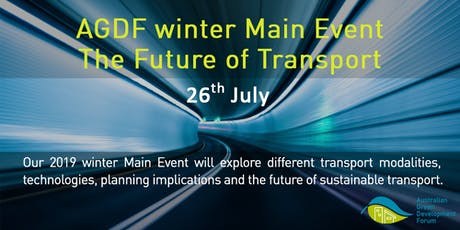 AGDF Main Event (Winter 2019) Future of Transport tickets