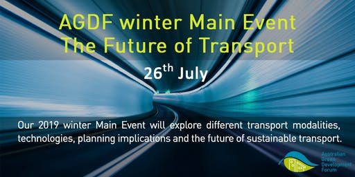 AGDF Main Event (Winter 2019) Future of Transport