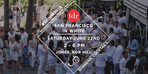 San Francisco In White