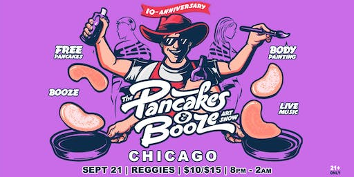 The Chicago Pancakes & Booze Art Show