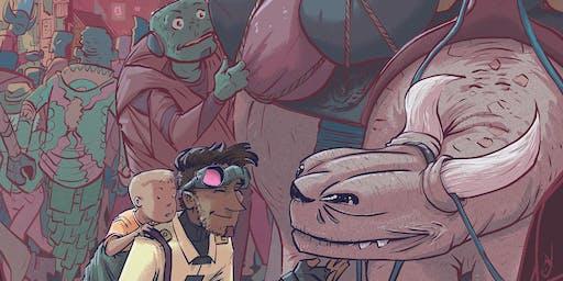 Comic Con-versation 2019: Comic Team, Assemble! Collaboration in Comics Panel