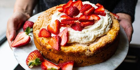 Strawberry Olive Oil Cake with Honeyed Ricotta tickets
