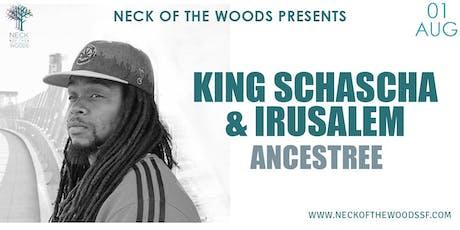 King Schascha & Irusalem, Ancestree tickets