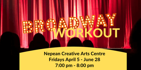 Broadway Workout - NCAC tickets