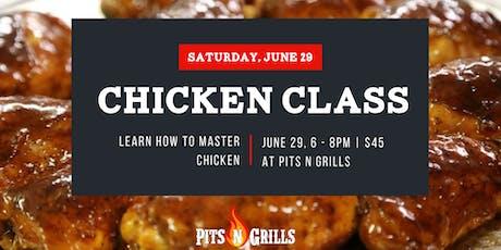 """Mastering Chicken"" - BBQ and smoking chicken class tickets"