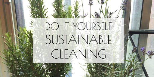 Do-It-Yourself Sustainable Cleaning