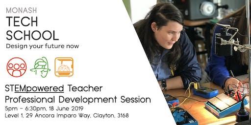 STEMpowered Teacher Professional Development Session