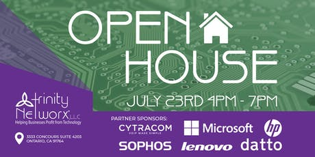 Trinity Networx Open House tickets