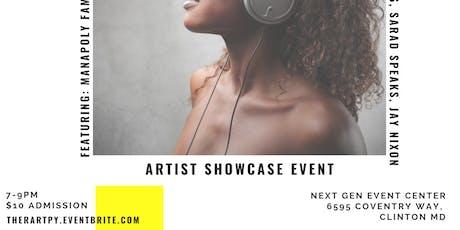 Ther-ART-py (Artist Showcase) tickets