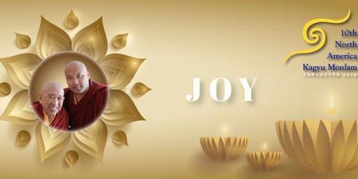 The 10th North American Kagyu Monlam 第十屆北美噶舉大祈願法會