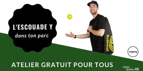 Atelier d'initiation au Spikeball billets
