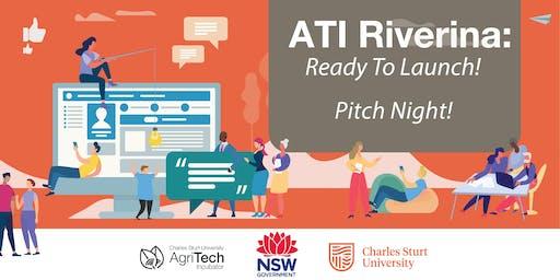 ATI Riverina: Ready to Launch - Pitch Night!