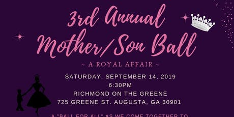 3rd Annual Mother/Son Ball tickets