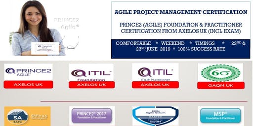 Prince2 (Agile) Foundation Certification into Agile Project Management