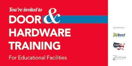 Door & Hardware Training for Educational Facilities tickets