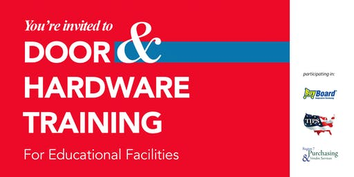 Door & Hardware Training for Educational Facilities