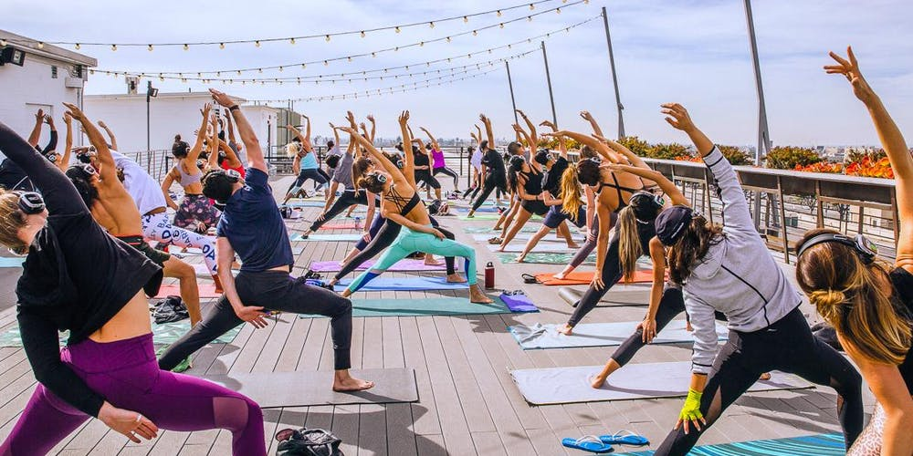 Flow + Flavor // Rooftop Yoga at Smorgasburg x ROW DTLA