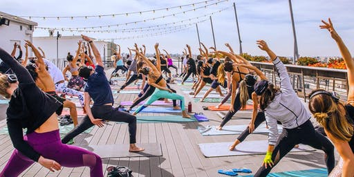 Flow + Flavor: Rooftop Yoga