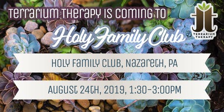 Succulent Saturday at Holy Family Club tickets
