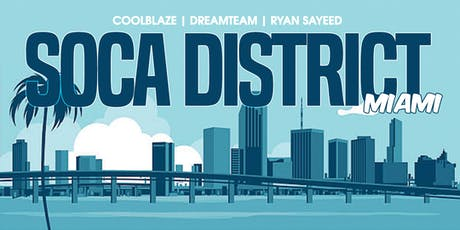 Soca District tickets