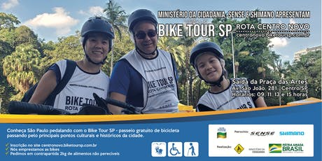Bike Tour SP - Rota Centro Novo ingressos