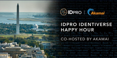 IDPro Identiverse Happy Hour - co-hosted by Akamai tickets