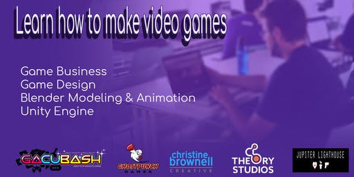 Learn how to make games - 2 Day Game Dev Bootcamp @ GACUBash - July 13 & 14, 2019