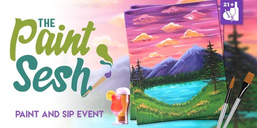"Paint and Sip in Downtown Riverside, CA – ""Wanderlust"""