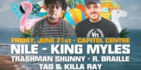 Summer Solstice ft. Nile & King Myles tickets