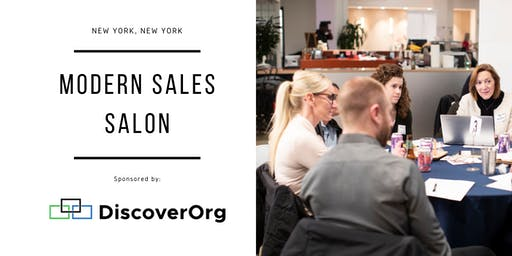 "Modern Sales Pro Salon - NYC #13 - ""The Power of Personalization"" Night"