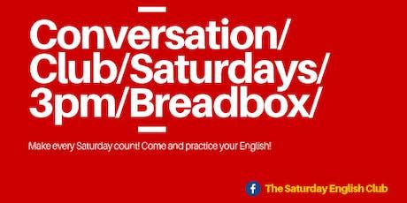 English Conversation Club - Season 2 tickets