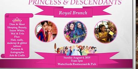 Princess and Descendants Royal Brunch tickets