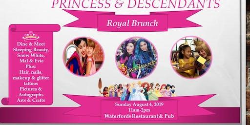 Princess and Descendants Royal Brunch