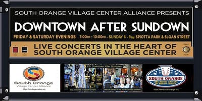 Downtown After Sundown Presents The Accelerators Band in Spiotta Park