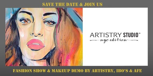 Fashion Show & Make-Up Demo by Artistry, IBO's & AFE