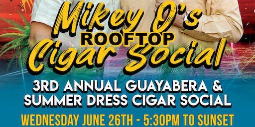 Mikey o's cigar social at Masada