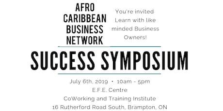 Business Success Symposium tickets