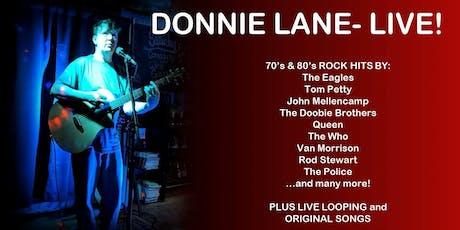 Donnie Lane LIVE @GrowlerUSA in Raleigh tickets