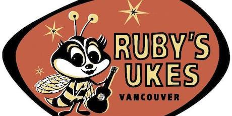 """Ruby's Ukes  """"Uke can play the Blues"""" Ukulele Workshop  tickets"""