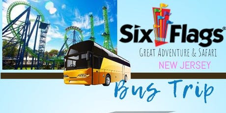 Six Flags Great Adventure and Safari Bus Trip tickets