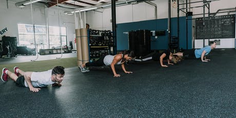 Free Workout with Vantage Movement, home of CrossFit Vantage tickets