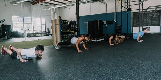 Free Workout with Vantage Movement, home of CrossFit Vantage