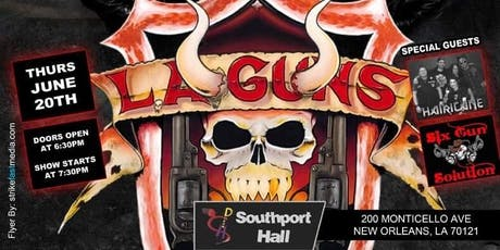 L.A. Guns  With  Tracii Guns and Phil Lewis  /  June,20  at Southport Hall tickets