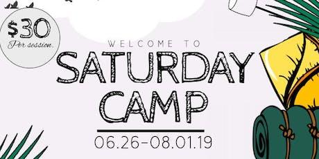 KIDS PLAY - Saturday CAMP tickets