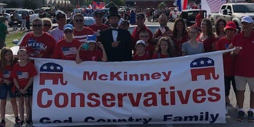 McKinney Conservatives 4th of July Parade Particpants